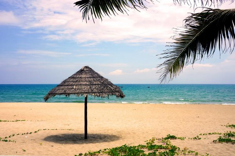 La plage près de Hoi An