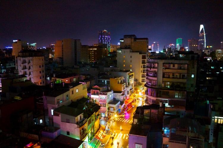 Ho Chi Minh Ville, la nuit