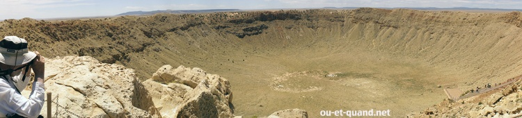 meteor crater (arizona) : panorama
