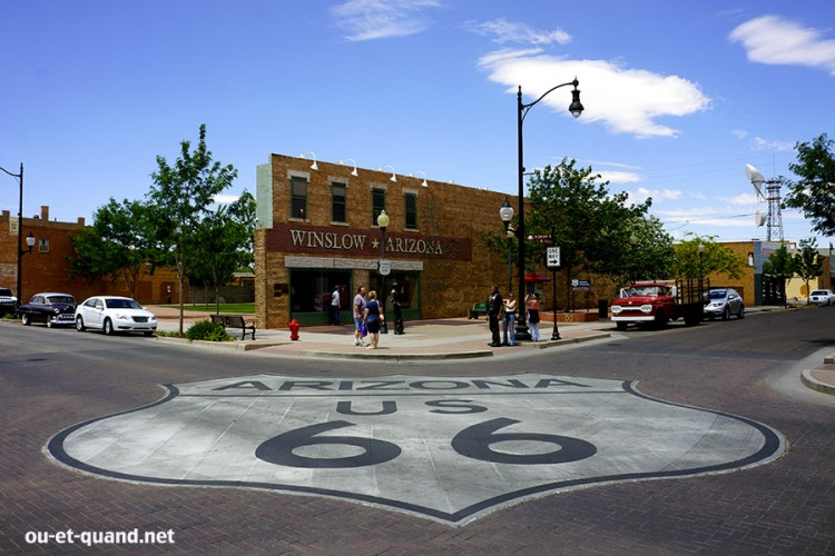 winslow arizona route 66