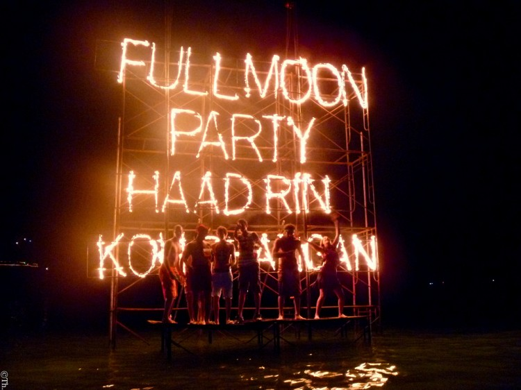 Full Moon party à Koh Phangan en Thaïlande