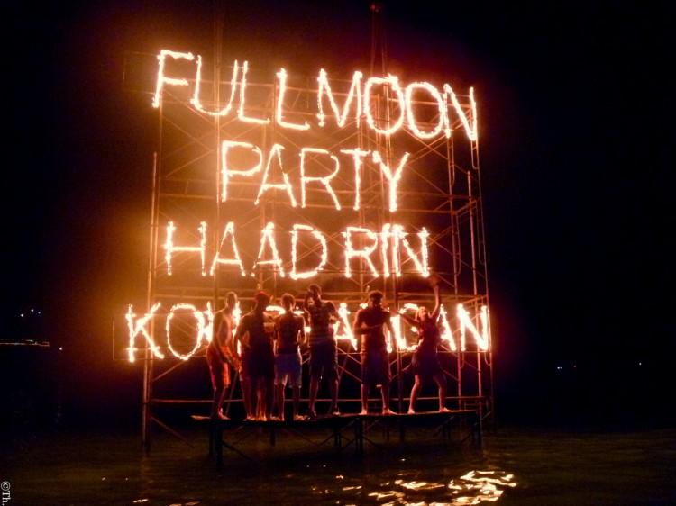Full Moon party à Koh Phangan en Thaïlande