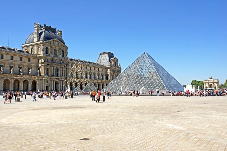 musee du louvre à Paris