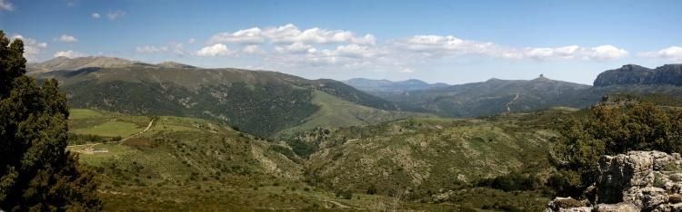 Le parc du Gennargentu : une vue magnifique depuis le sommet de l'île