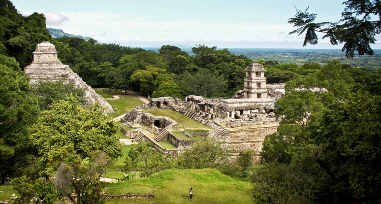 palenque : cite maya au Mexique
