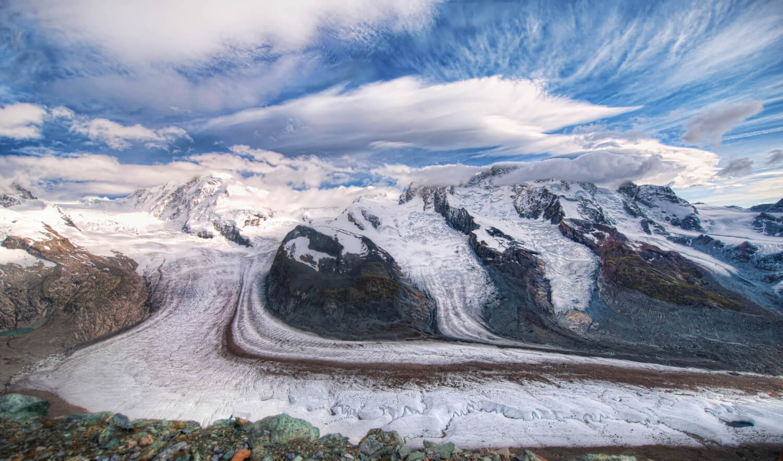 Skier en été dans les Alpes Suisse ? C'est possible !