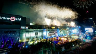 Le nouvel an à Bangkok est fêté dignement !