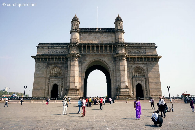 porte de l'inde à bombay (gateway of india)