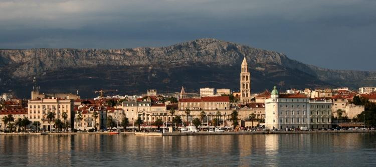 Vue sur Split en Croatie