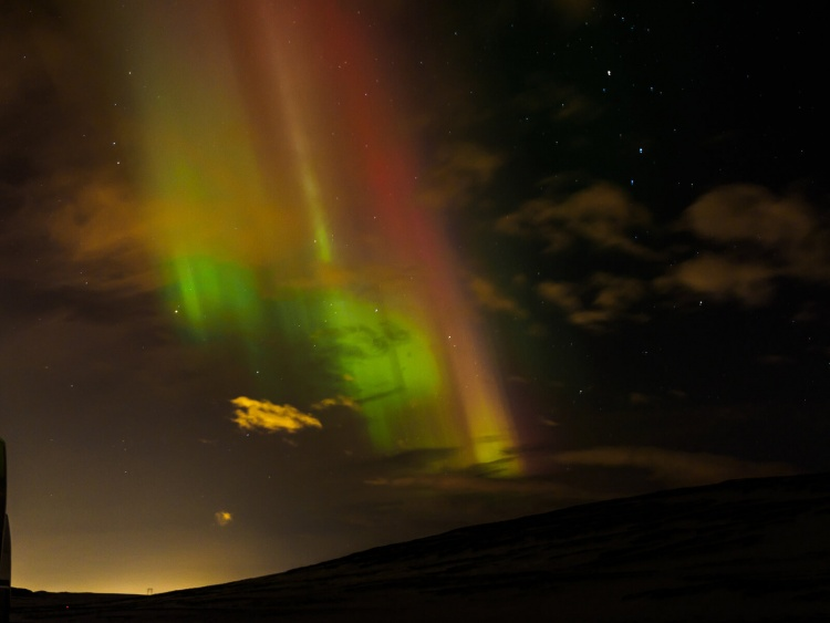 Une magnifique aurore boréale observée en Islande (© photo)