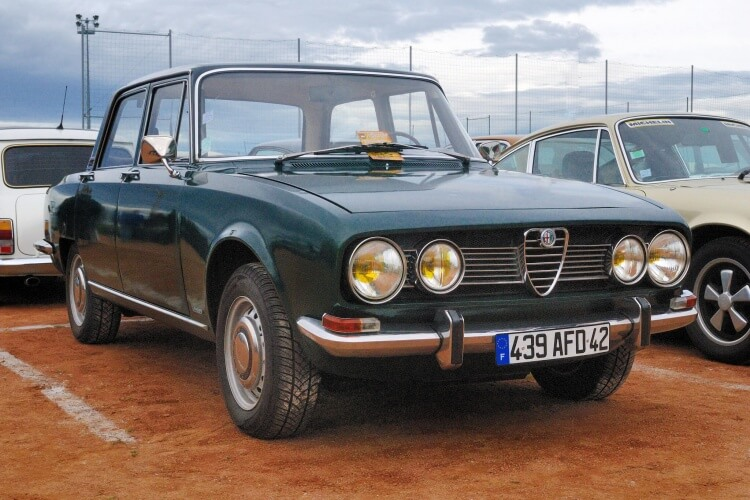 Le top : un roadtrip en Italie en Alfa Romeo 1750 Berlina !