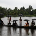 bateau en inde pendant la mousson