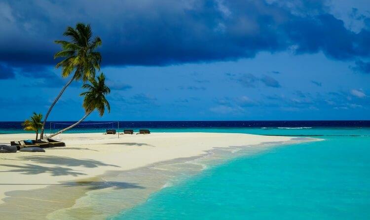 Un coin de paradis artificiel sur cette île-hôtel aux Maldives
