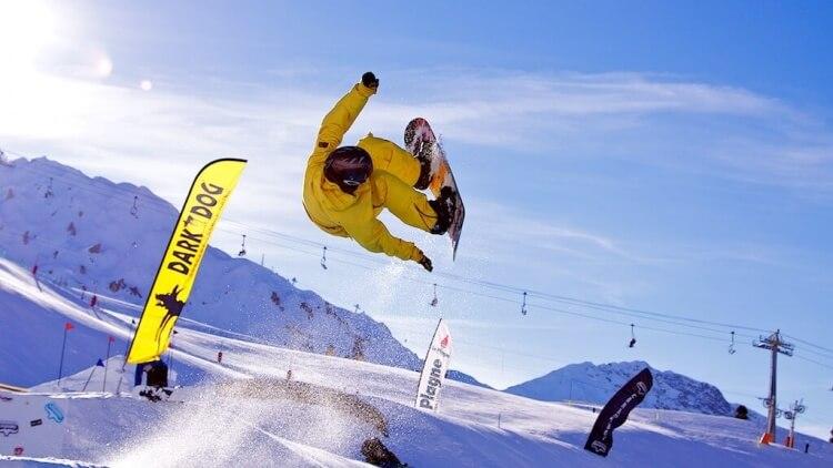 "Alors prêt pour aller skier ou ""snowboarder"" en avril ?"