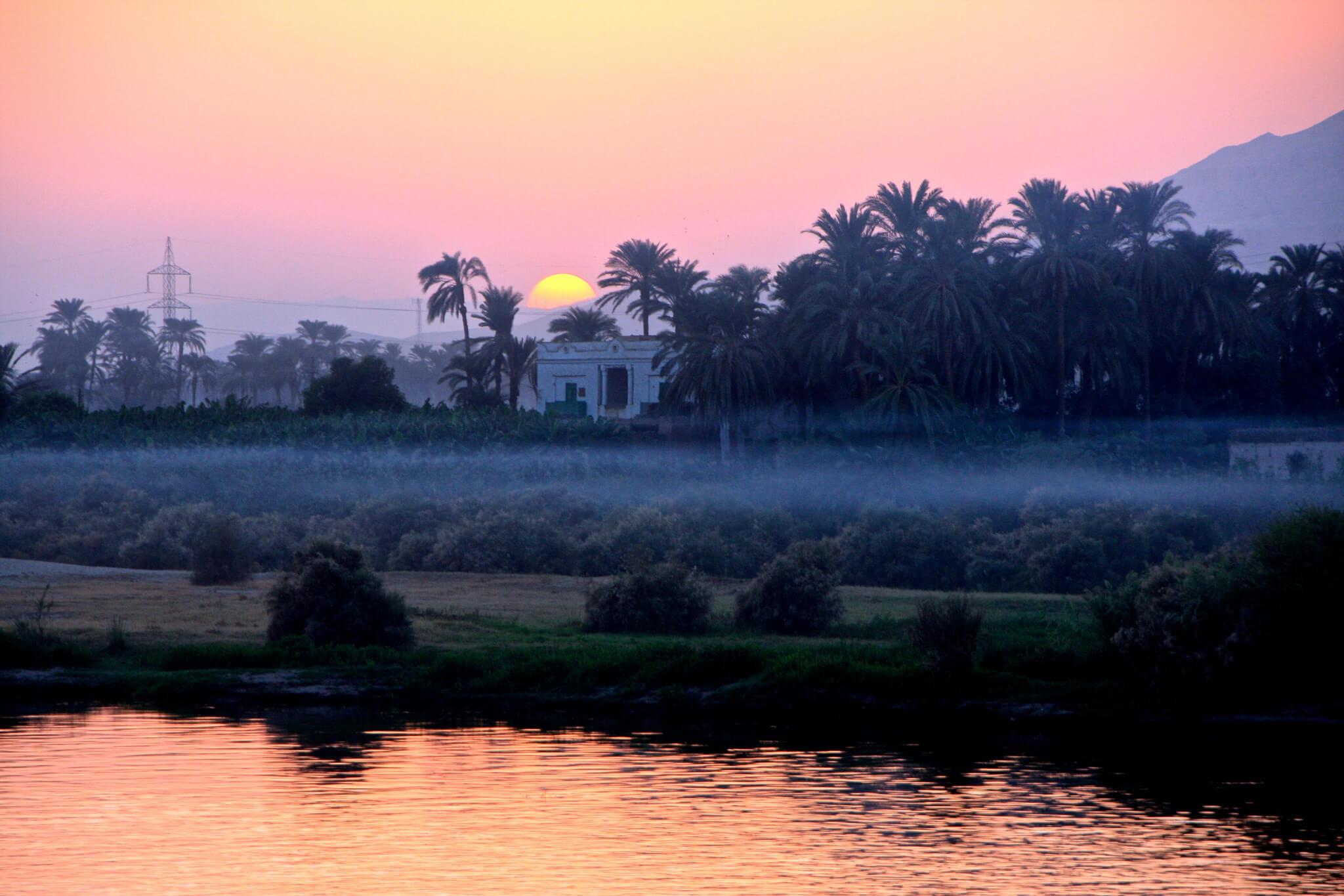 Charmant Ce Coucher De Soleil Sur Le Nil Nu0027est Il Pas So Romantique ?