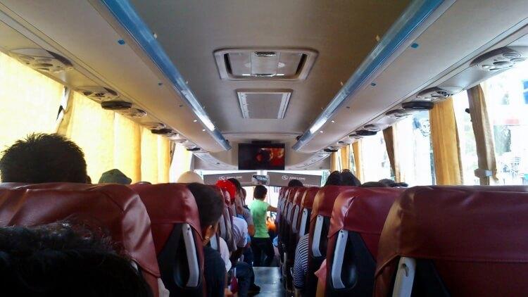 Le confort à l'intérieur des autocars est très inégal selon les compagnies.