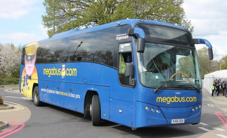 Autocar de la compagnie Megabus