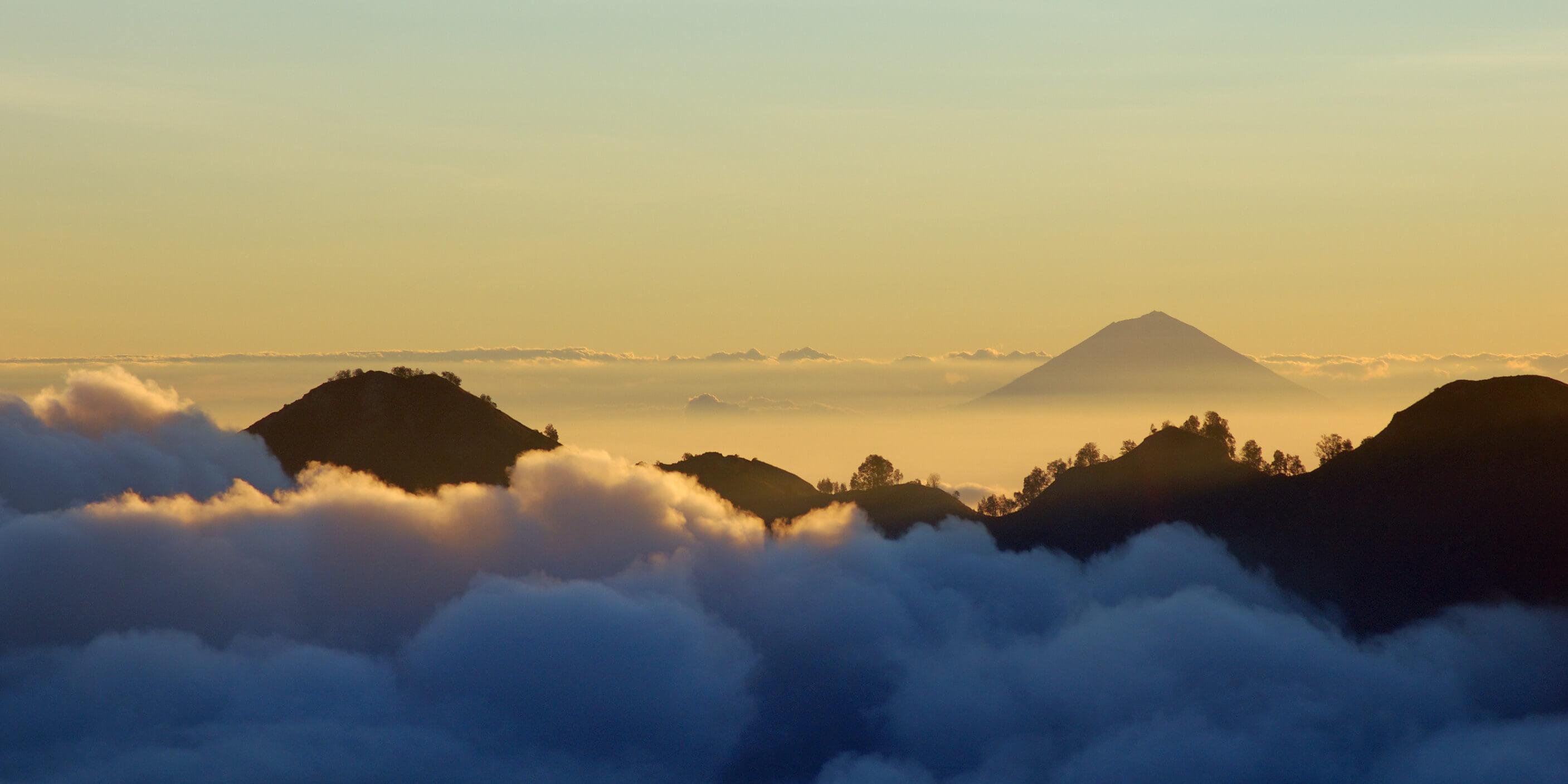 Bali, au dessus des nuages