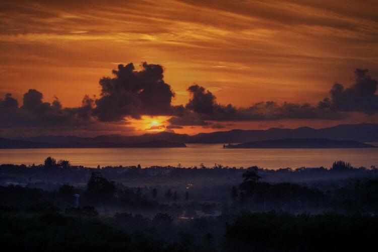 Coucher de Soleil à Phuket