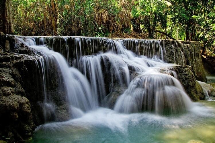 Les chutes de Kuang Si.