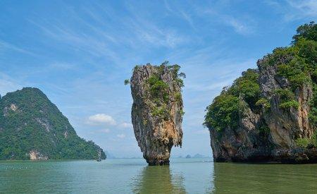 La mer dans la Province de Phuket