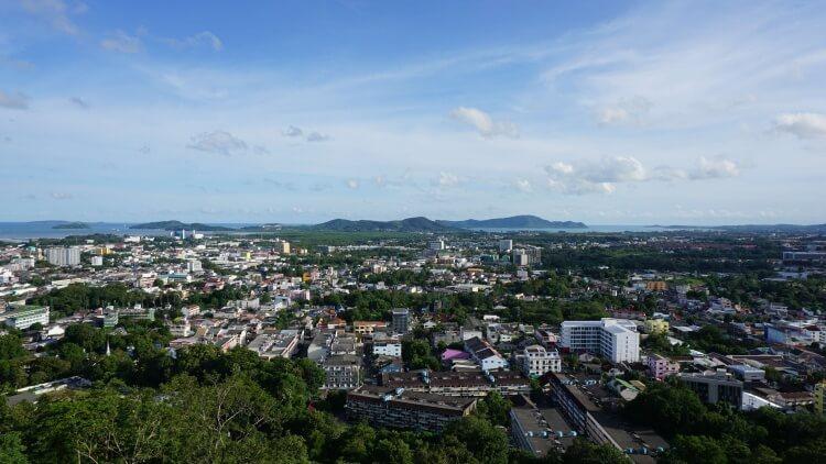 Vue sur Phuket