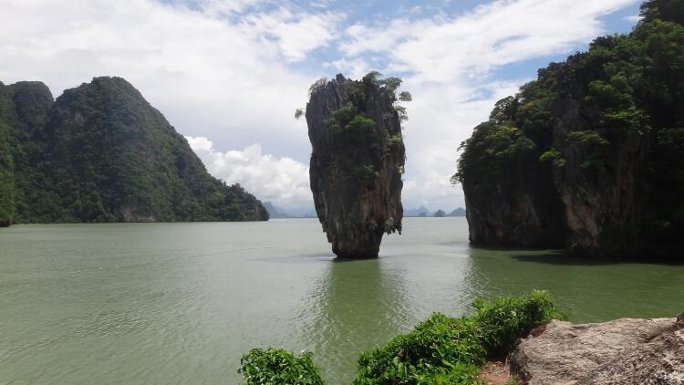 L'île de James Bond en Thaïlande