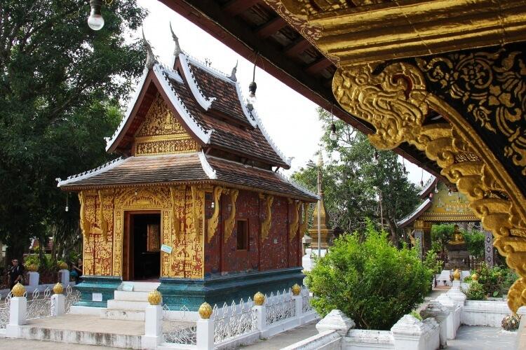Le temple Wat Xieng Thong