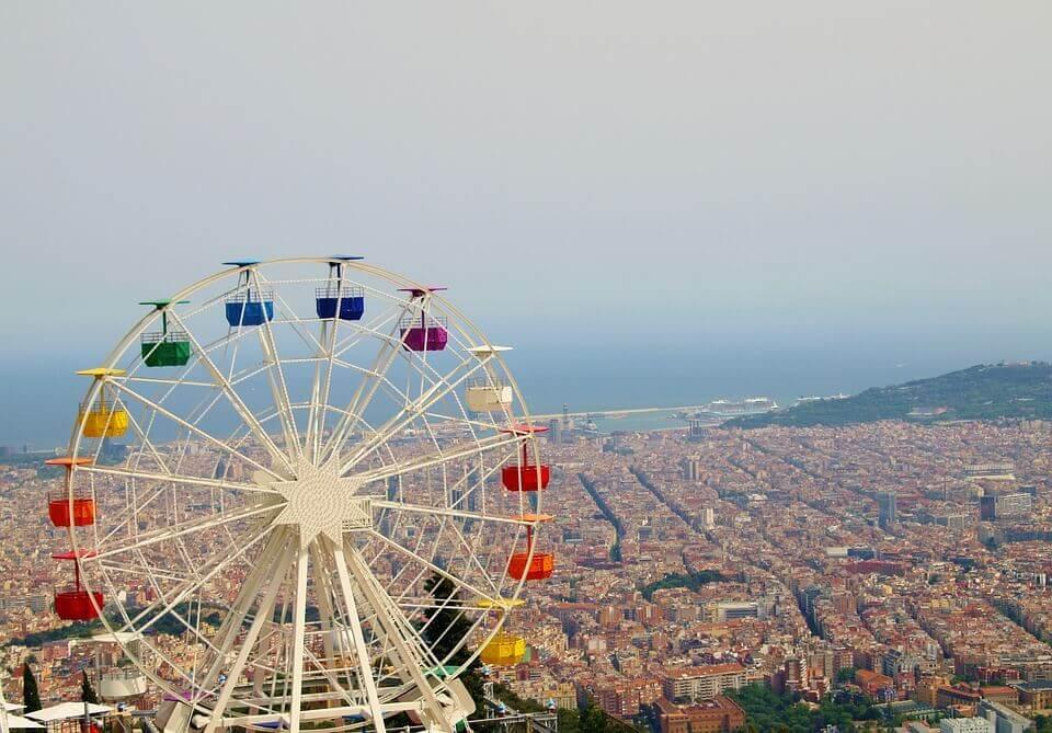 grande roue de barcelone