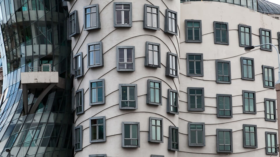 Architecture insolite à Prague