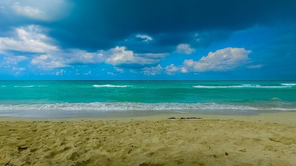 Plages de Cuba à la saison des pluies