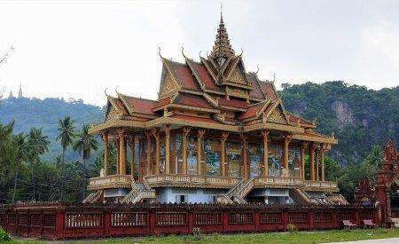 Un temple à Battambang