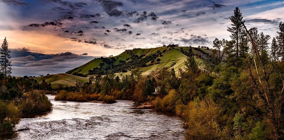 Rivière au Etats-Unis