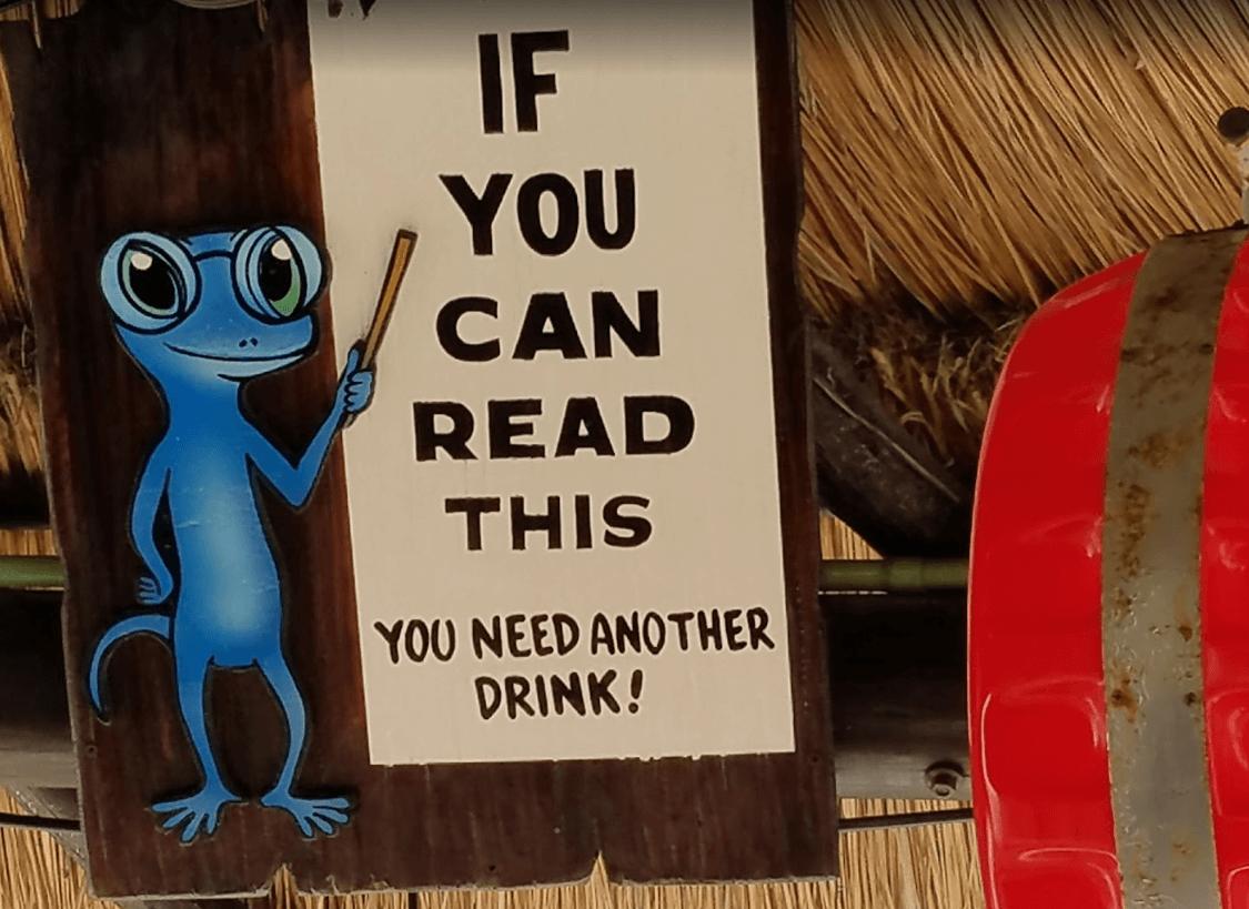 Le bar du gecko bleu