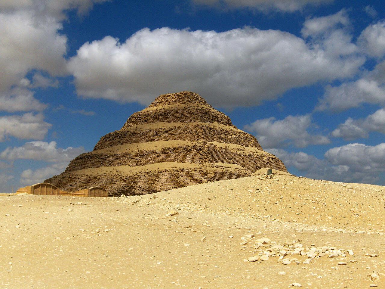 Pyramide de Djoser à Saqqarah
