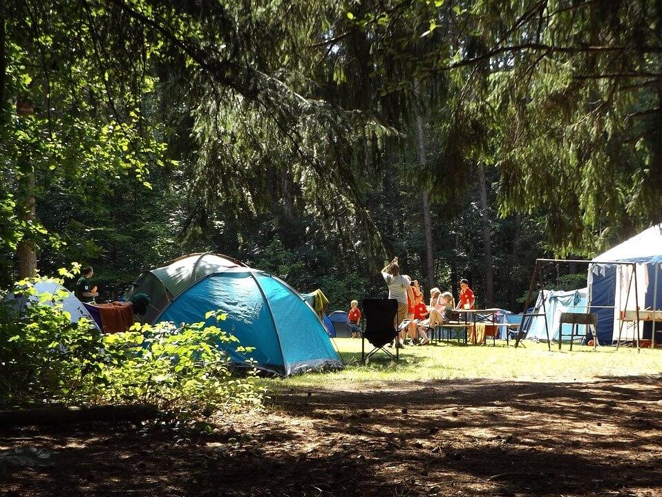 Camping en Suède