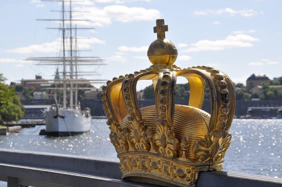 couronne-du-pont-Skeppsholm-de-stockholm