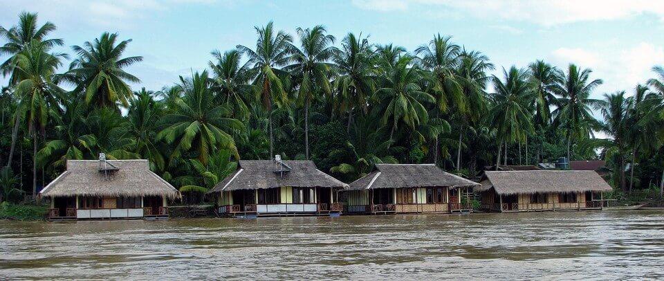 maisons typiques laos 4000 iles