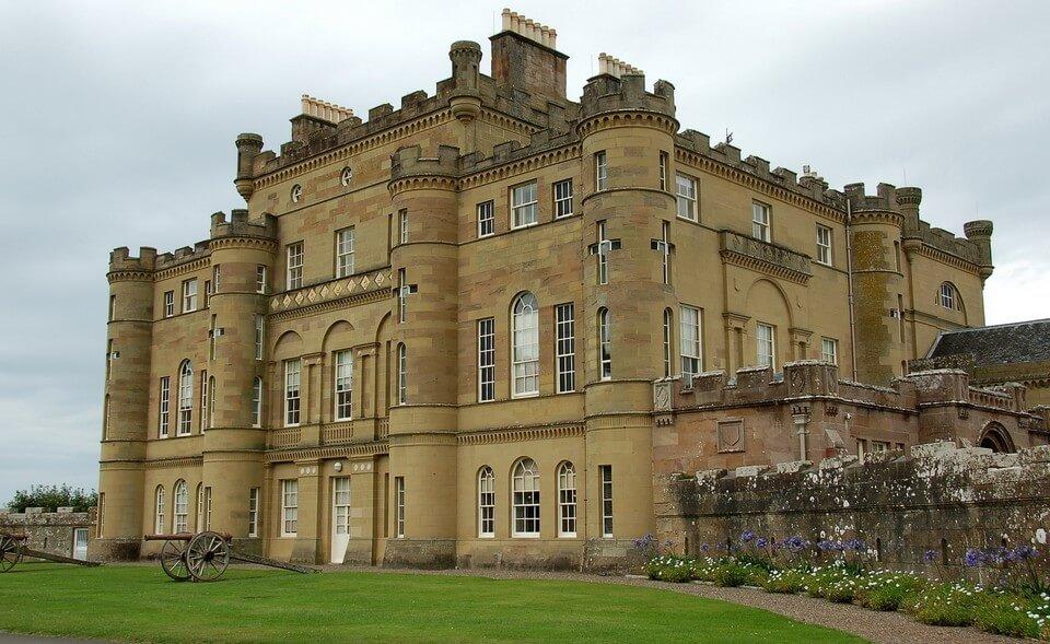 Culzean Castle chateau hanté en ecosse