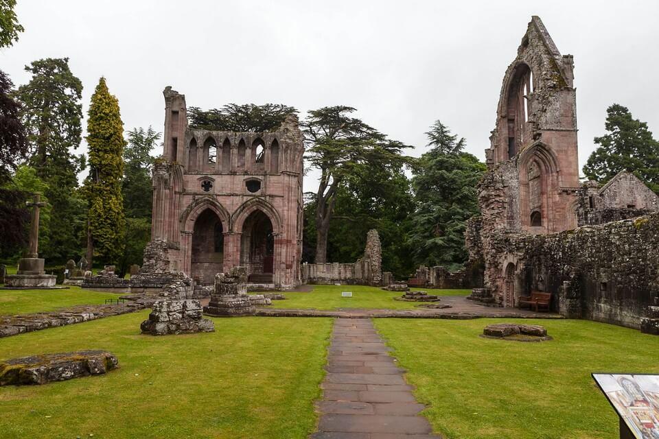 Dryburgh Abbey un lieu hanté