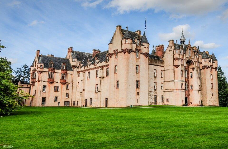 fivy castle chateau le plus hanté d'ecosse