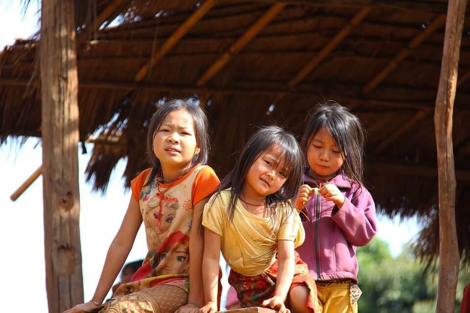 enfants 4000 iles laos