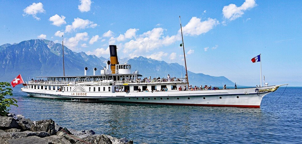 diner croisière sur le lac leman nouvel an en suisse
