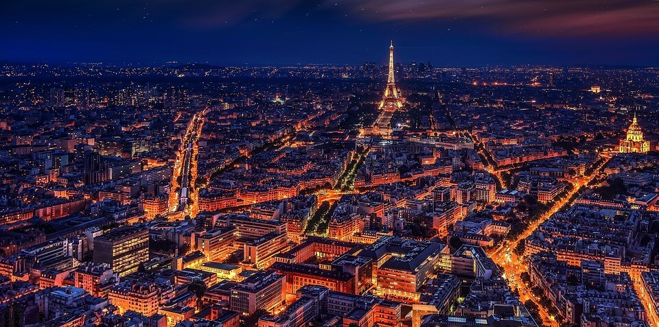 paris de nuit