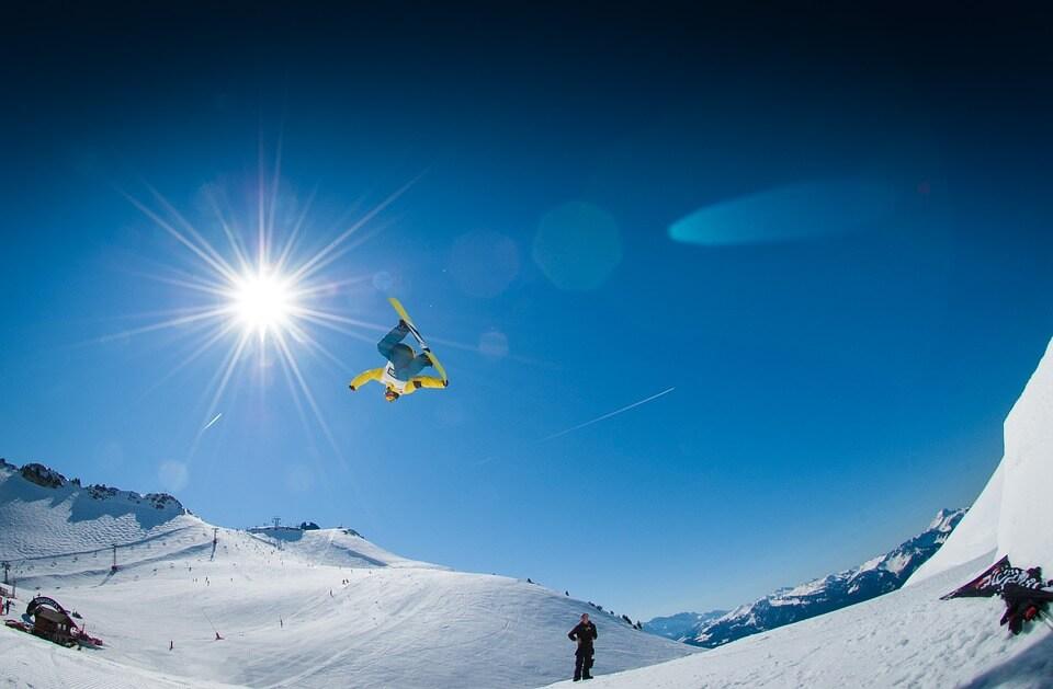 pistes de ski durant le nouvel an en suisse