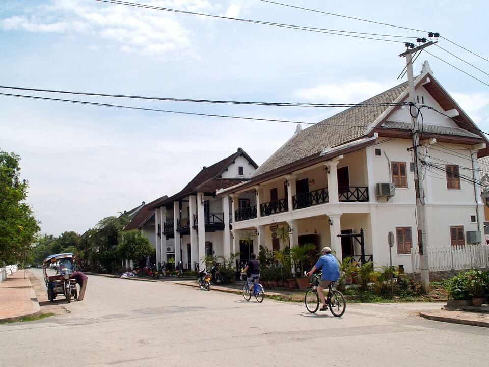 centre ville luang prabang laos