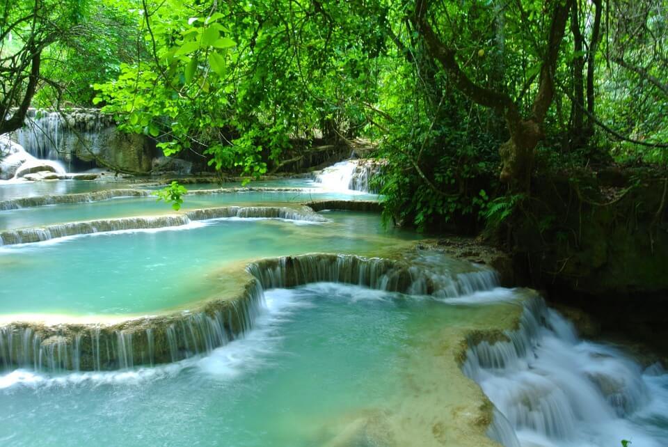 cascade luang prabang laos