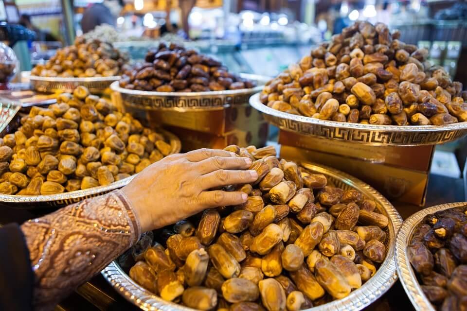 marché dattes abu dhabi ou dubai