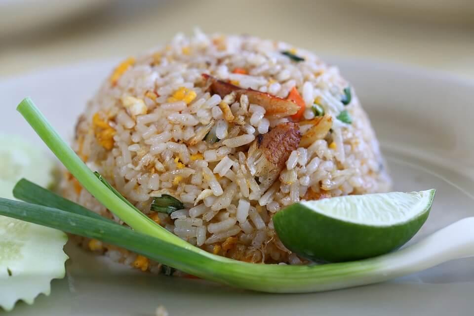 riz frit krabi ou phuket
