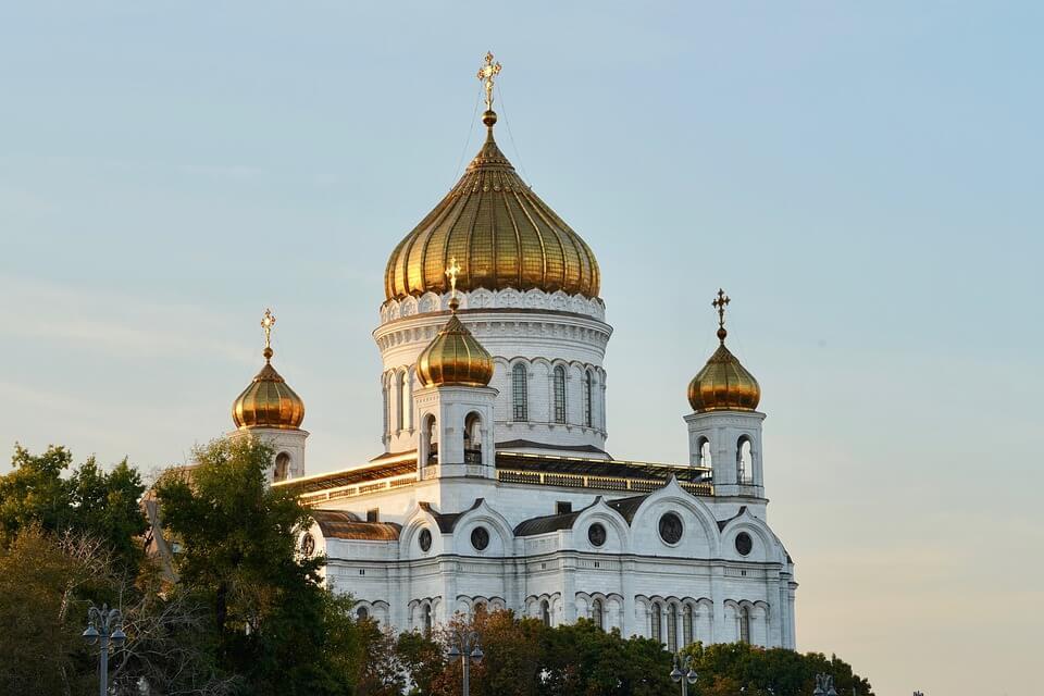 cathédrale christ sauveur monument moscou